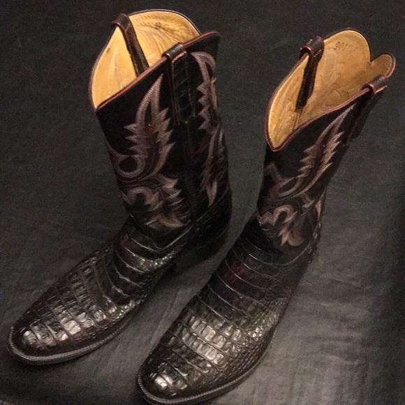 73e008047e6 Cowboy Alligator Boots Rios of Mercedes